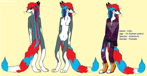 Lilly Anthro ref by roisincrowe11