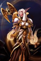 Priest , Avatar armor ( world of warcraft ) by maxfxgr