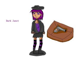 Dark Janet found a new weapon by DarkJanet