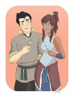 Dango - Korra by Irrel