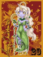 LoL Advent 2014 - Day 20 - Soraka by enchanted-enigma