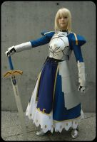 Saber: Fate Stay Night by gamefan23