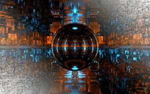 Cubistic Reflections Alt. Ver. by Ingostan