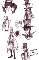 GoosebumpsHorrorland OC - The Puppet Magician by Bry-chan
