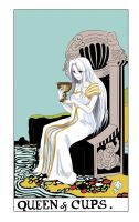 Queen of Cups by Marisa-Beautoy