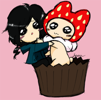 Fan Art: Strawberry Ann and I by DinDeen