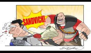 Sandvich Punch by CajunPyro