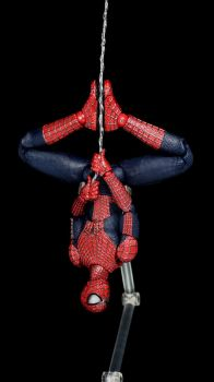 Mafex Amazing Spider-Man 2 04 by Infinitevirtue