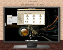 Flexable - Enlightenment in Maya by rvc-2011