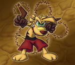 Ty the Tasmanian Tiger by WaspCarcass