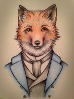 Fantastic Mr. Fox by ScribbledStars