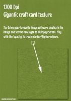DeadCaL's Gigantic Card Textures - Green by deadcal