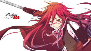 Render Grell Sutcliff by Portgas-D-Ace29