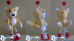 Tails Doll Plushie Sonic r by BriteWingz