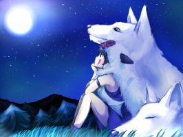 Princess Mononoke by NekoLenLen0