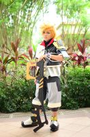 Kingdom Hearts, Ventus: Discarded X-Blade by cure-pain