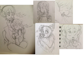 Sketchdump by Foreveryoung8