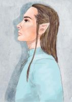 Elven Kaulitz by aiisblueapple