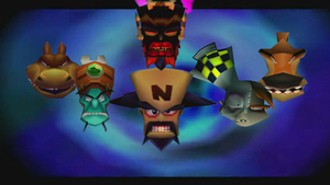 Crash Bandicoot 3 Foes by AlexDarkmatter