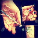 Tiny Crocheted Hearts by LightDisciple