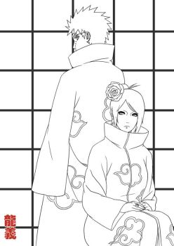AL and BH Lineart by Roggles