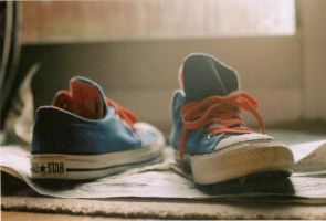 converse on film. by completedifferentleo