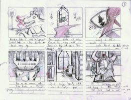 THIEF storyboard teaser by Cruxia
