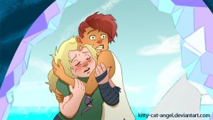 Lars and Sadie Screencap Redraw by Kitty-Cat-Angel