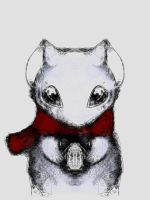 Winter Mouse by TaMarchingTomahawk