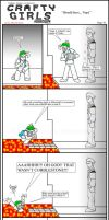 Minecraft Comic: CraftyGirls Pg 16 by TomBoy-Comics