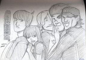 Motorcity: The Burners sketch by Jashiku