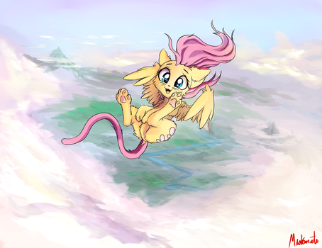 Flutter Kitten by Miokomata