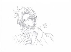 Claude Faustus {Sketch} by vivian123123