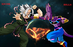 Xicor Vs Bills: The REAL Battle of Gods! by Tony-Antwonio