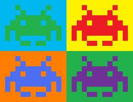 Pop Invaders: Four Seasons Br. by Daeurth