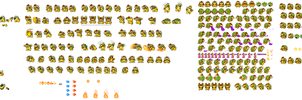 SMBHotS Bowser Sprite Sheet FINAL Part by KingAsylus91