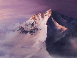 mountain by tuiske
