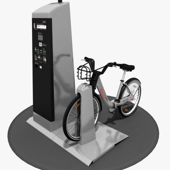 Bixi Montreal 3D Model by A-Cermak