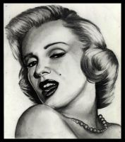 Marilyn Monroe Portrait No.8 by missperple