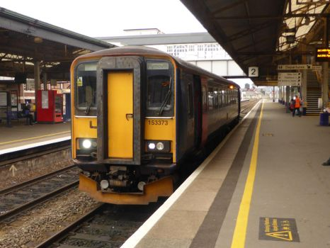 153373 at Newton Abbot by Torre7