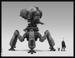 Warbot by Lenzerwin