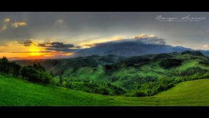 Bucegi Sunrise - HDR by vxside