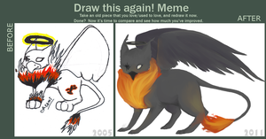 Draw it Again Meme by paniqueatthehart