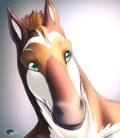 Creedence's portrait commish by Shalinka