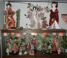 My Japanese Doll Collection by crokittycats