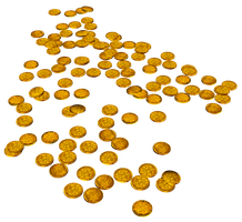 Gold Coins 1 by Shades-Of-Rage