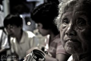 The grandmother. by lizzAy