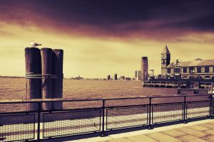 New York City - Battery Park by tsxworld