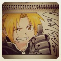 Vic Mignogna Signature XD by Sherlock3000
