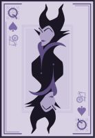 Queen of Spades by Mr-Bluebird